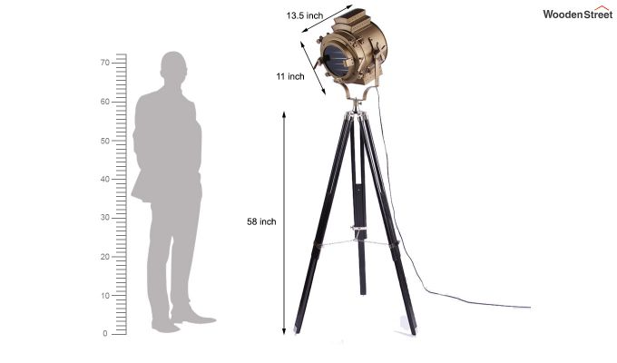 Discovery Black Tripod Lamp by Grated Ginger-6