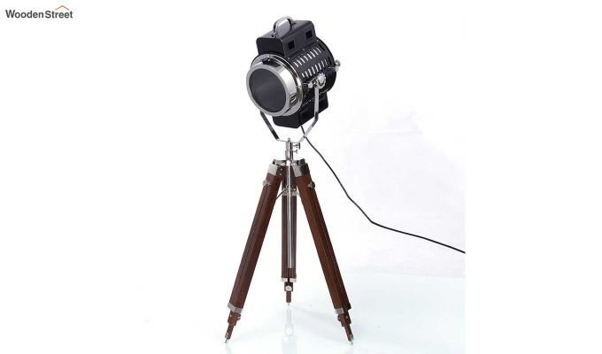 Focus Wood Tripod Lamp by Grated Ginger-2