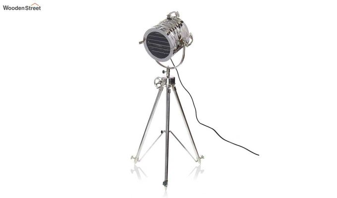 Potter Silver Tripod Lamp by Grated Ginger-2
