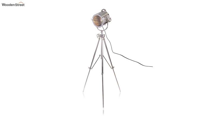 Potter Silver Tripod Lamp by Grated Ginger-3