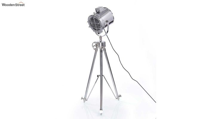Saber Silver Tripod Lamp by Grated Ginger-2