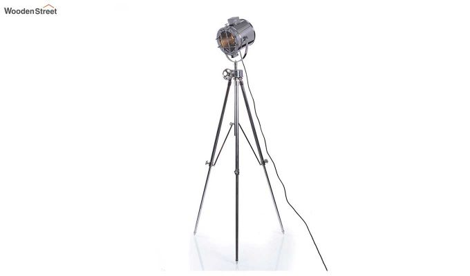 Saber Silver Tripod Lamp by Grated Ginger-3