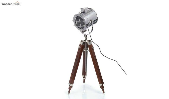 Saber Wood Tripod Lamp by Grated Ginger-2