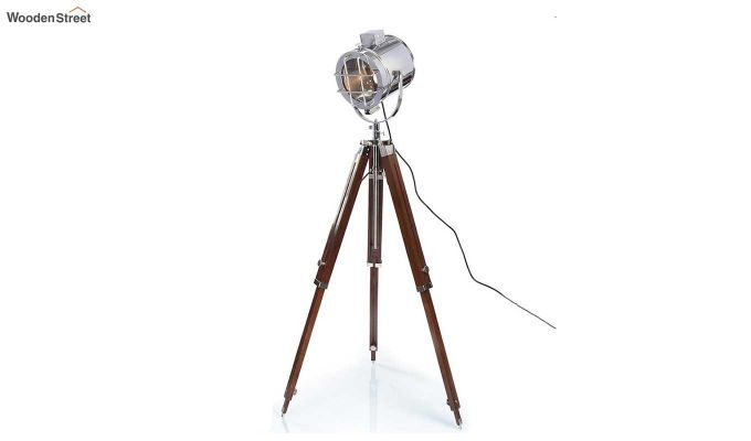 Saber Wood Tripod Lamp by Grated Ginger-3