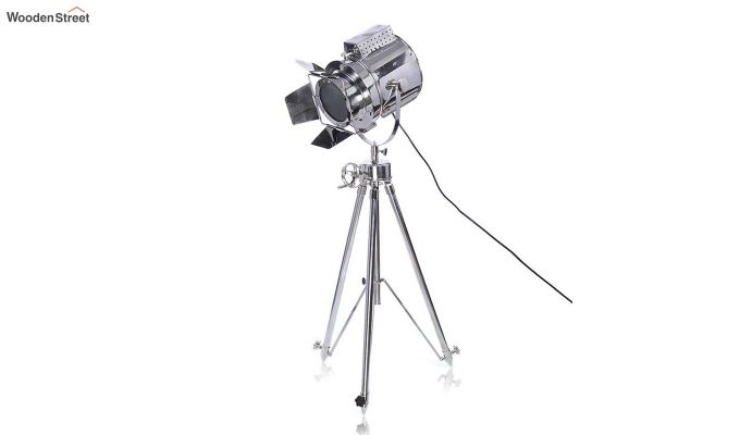 Satellite Silver Tripod Lamp by Grated Ginger-2