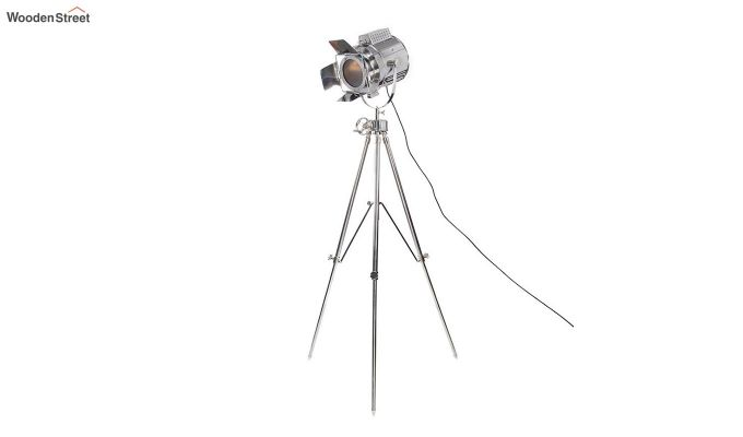 Satellite Silver Tripod Lamp by Grated Ginger-3