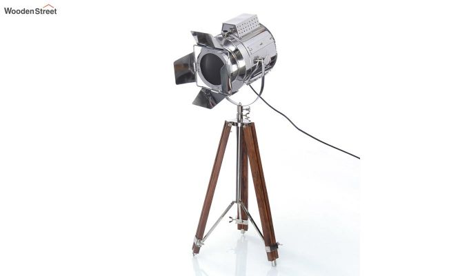 Satellite Wood Tripod Lamp by Grated Ginger-2