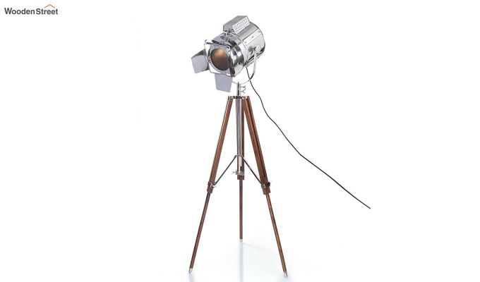 Satellite Wood Tripod Lamp by Grated Ginger-3