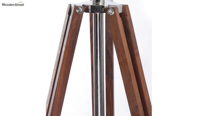 Satellite Wood Tripod Lamp by Grated Ginger-4