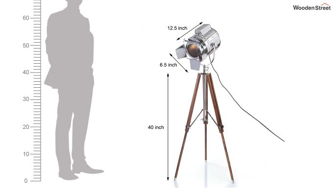 Satellite Wood Tripod Lamp by Grated Ginger-6