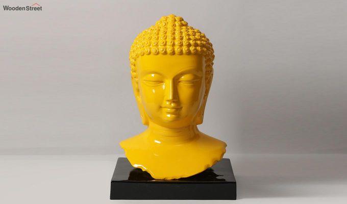Amber Buddha Resin Figurine-1