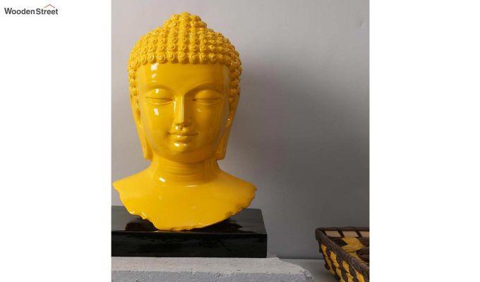 Amber Buddha Resin Figurine-2