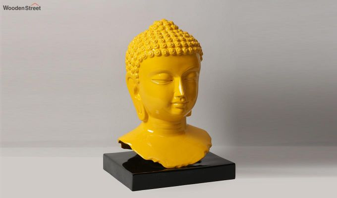 Amber Buddha Resin Figurine-3