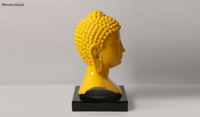 Amber Buddha Resin Figurine-4