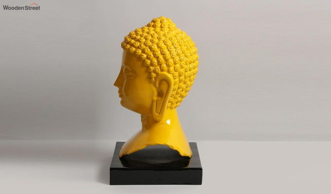 Amber Buddha Resin Figurine-6