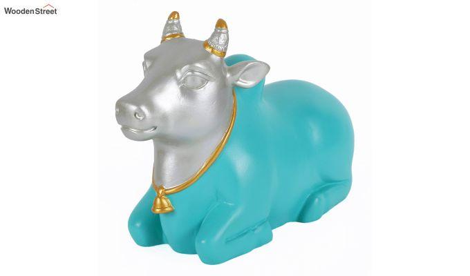 Blue Nandi Resin Figurine-5