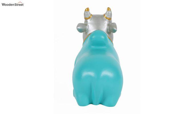 Blue Nandi Resin Figurine-6