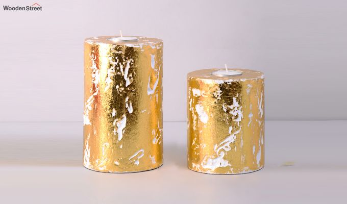 Golden Candle Stand-1