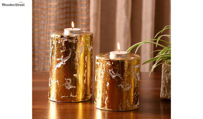 Golden Candle Stand-2