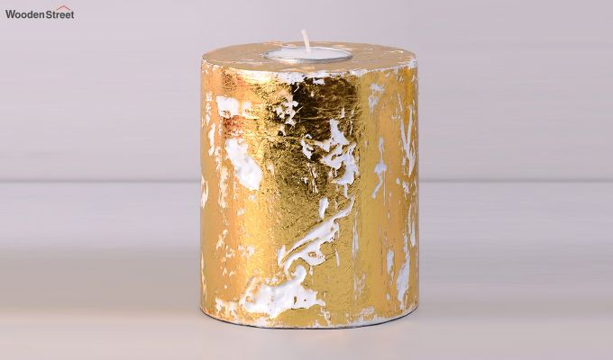 Golden Candle Stand-4