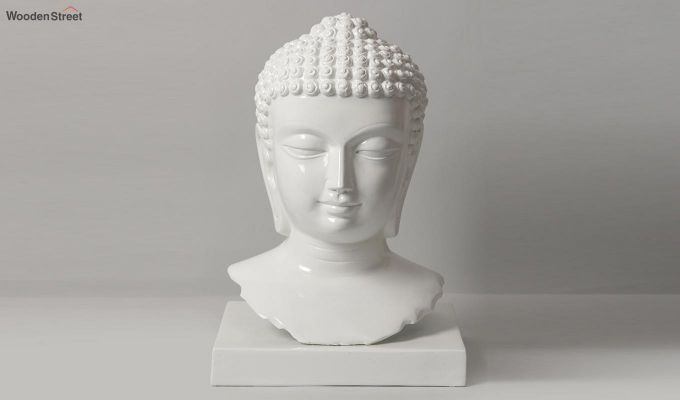 Pure Buddha Resin Face Idol-1
