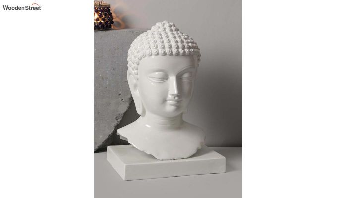Pure Buddha Resin Face Idol-2