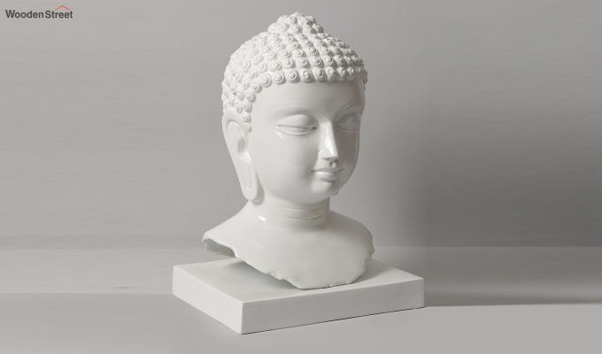 Pure Buddha Resin Face Idol-3