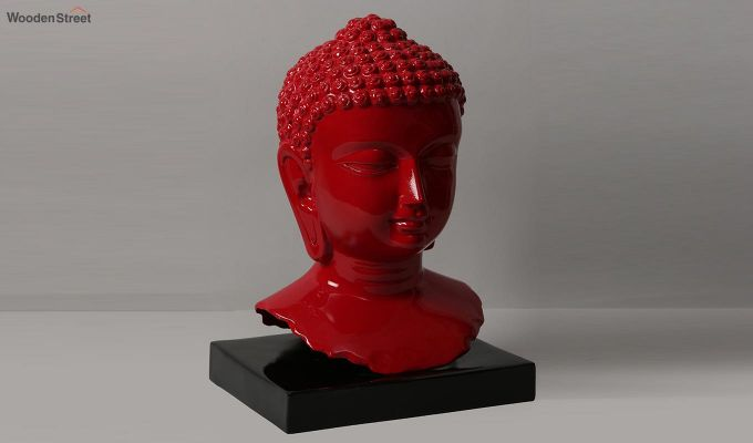 Scarlet Buddha Resin Face Idol-1