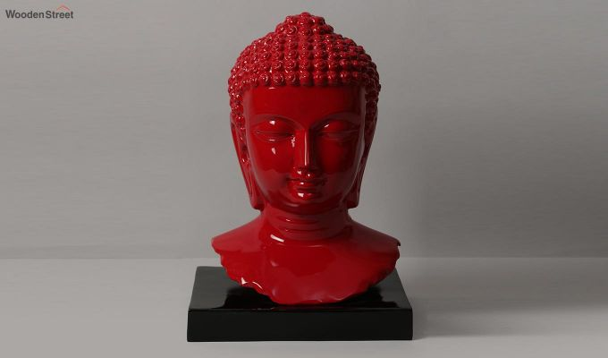Scarlet Buddha Resin Face Idol-3