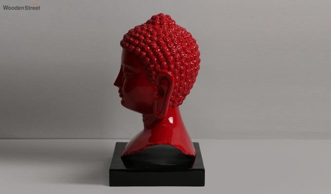 Scarlet Buddha Resin Face Idol-6