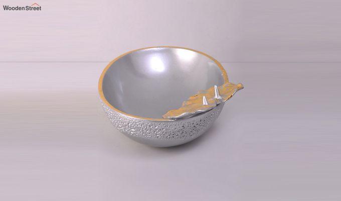 Silver Seashell Table Bowl-5