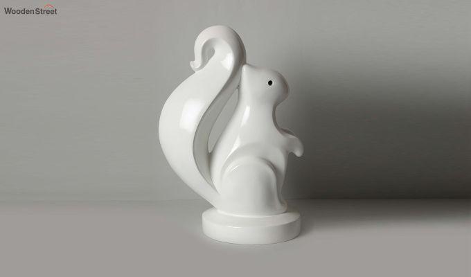 White Squirrel Figurine-4