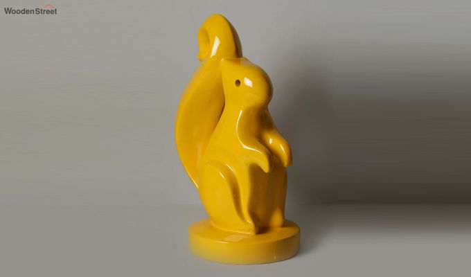 Yellow Squirrel Figurine-1