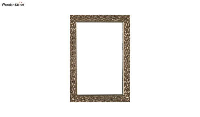 Fibre Frame HoneyComb Design Bathroom Mirror-2