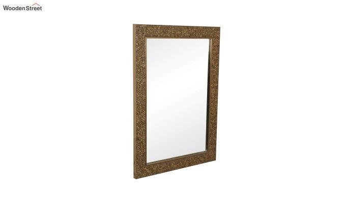 Fibre Frame HoneyComb Design Bathroom Mirror-3