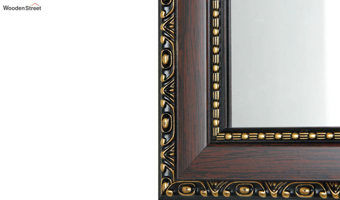 Fibre Frame Wall Hanging Bathroom Mirror-4