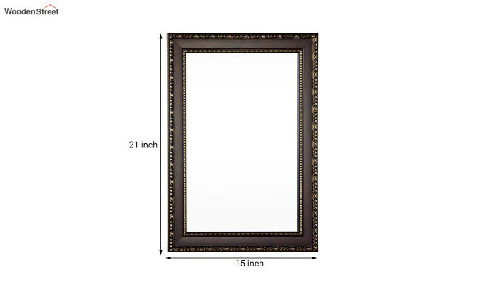 Fibre Frame Wall Hanging Bathroom Mirror-5