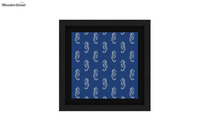 Anchor Sea Floater Framed Wall Art (Black Finish)-5