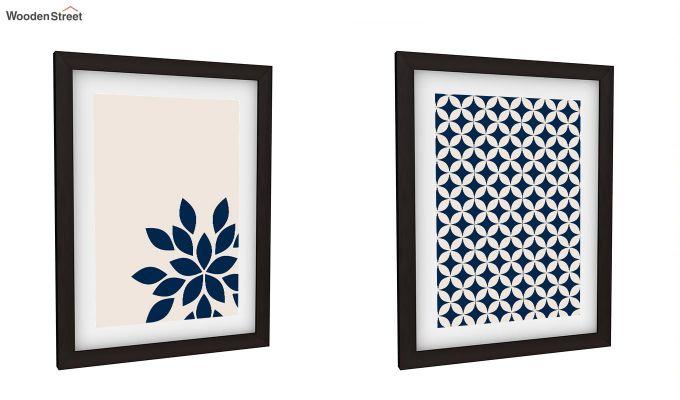 Blue Wood Framed Wall Art 1 (Set of 2)-2