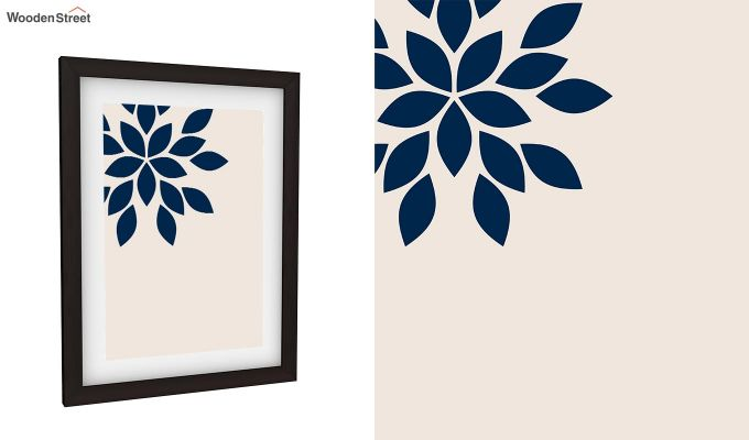 Blue Wood Framed Wall Art 2 (Set of 2)-3