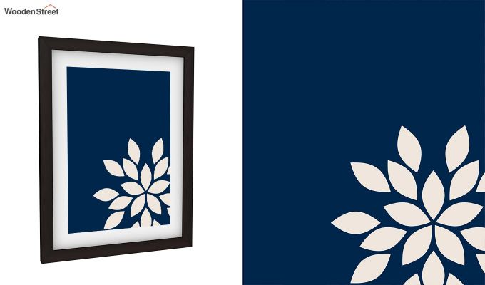 Blue Wood Framed Wall Art 2 (Set of 2)-4