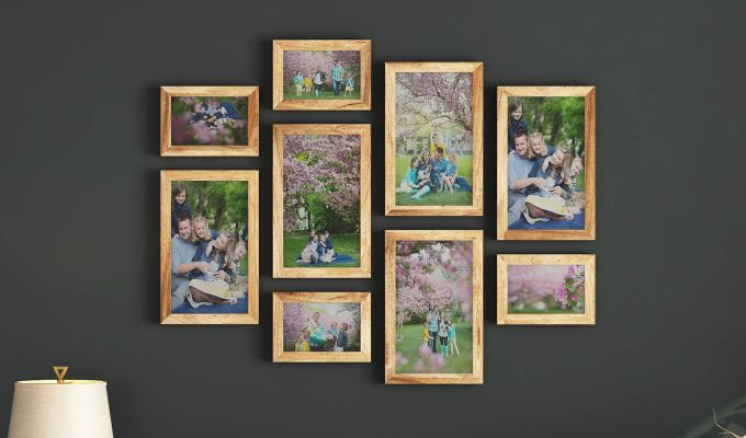 Havana Frame Collage (Natural Finish) (Natural Finish)-1