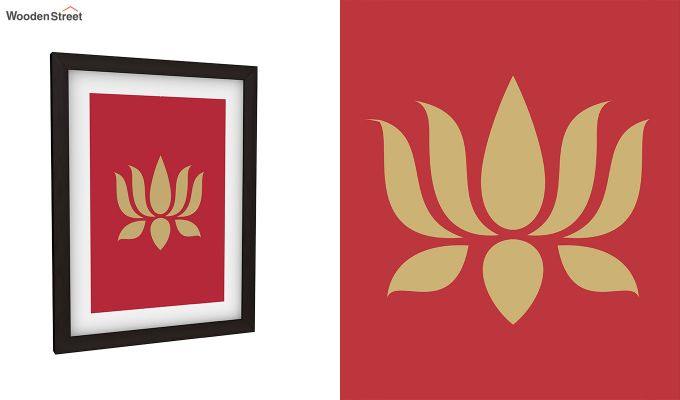 Lotus Stalks Framed Wall Art (Set of 2)-5