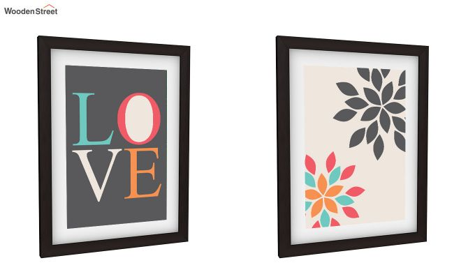 Peach Valentine Framed Wall Art 1 (Set of 2)-2