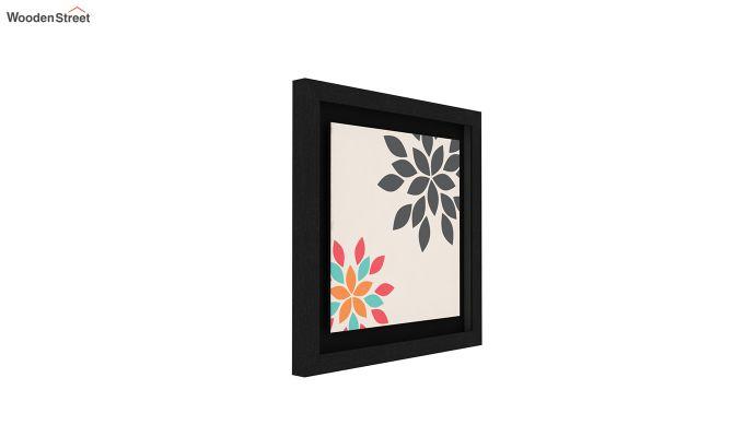 Peach Valentine Floater Framed Wall Art 1 (Set of 2) (Black Finish)-3
