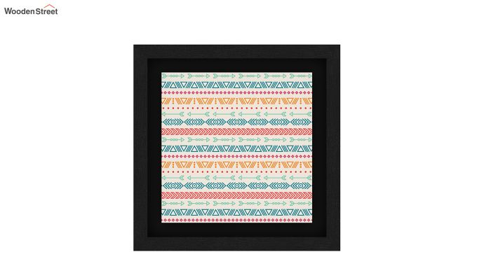 Peach Valentine Floater Framed Wall Art 2 (Set of 2) (Black Finish)-3