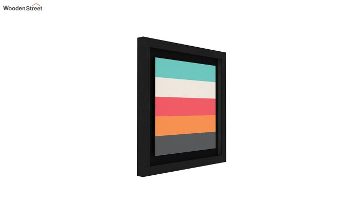 Peach Valentine Floater Framed Wall Art 2 (Set of 2) (Black Finish)-4