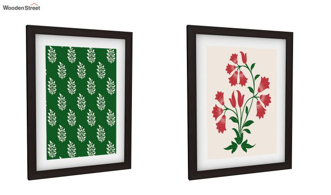 Redoo Spring Bloom Framed Wall Art 1 (Set of 2)-2