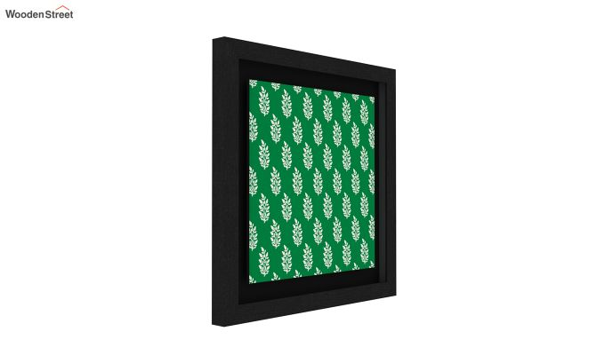 Redoo Spring Bloom Floater Framed Wall Art (Black Finish)-2