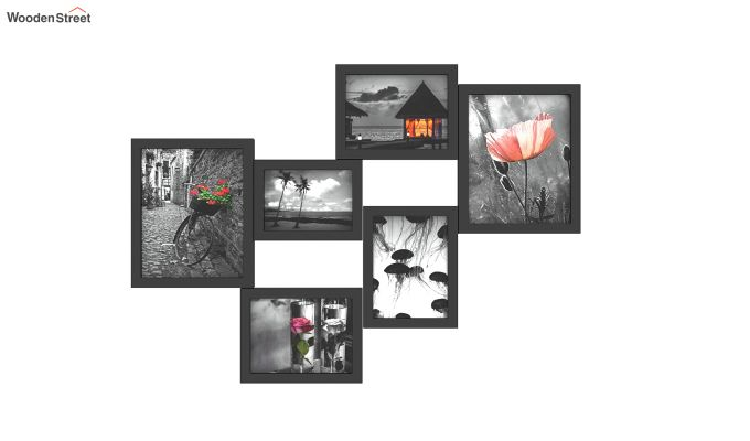 Steppe Frame Collage (Black Finish)-2